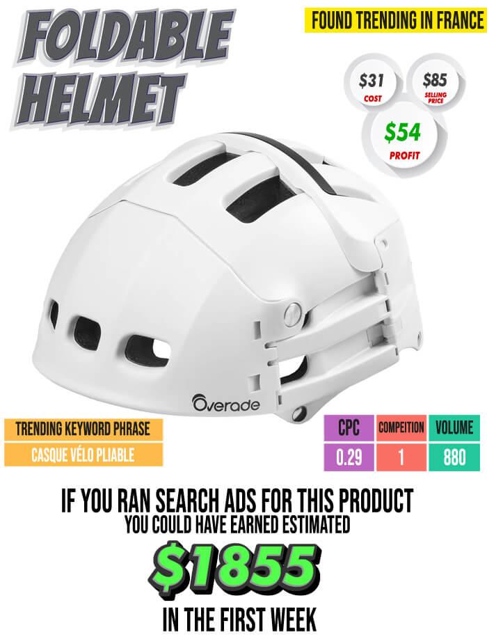 Foldable Helmet Case Study