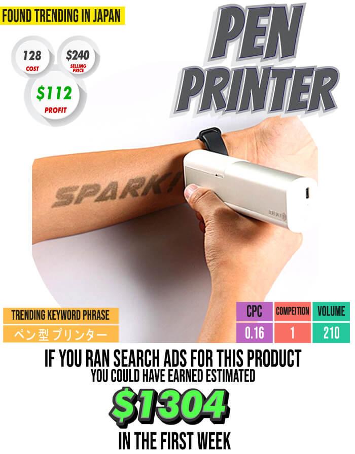 Pen Printer Case Study