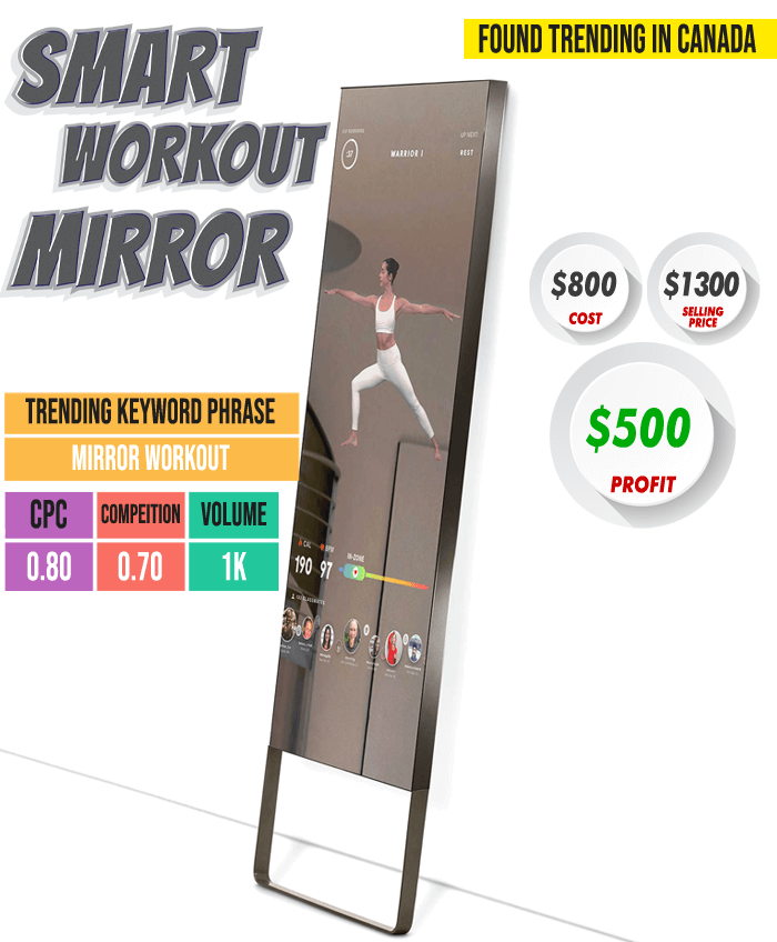 Smart Workout Mirror - Case Study